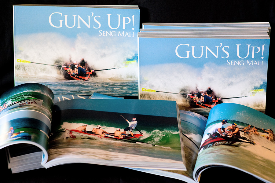 Gun's Up! - Book of surf rowing photographs