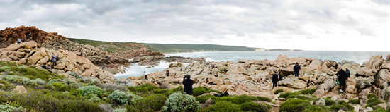 Landscape photographers at Wyadup Beach