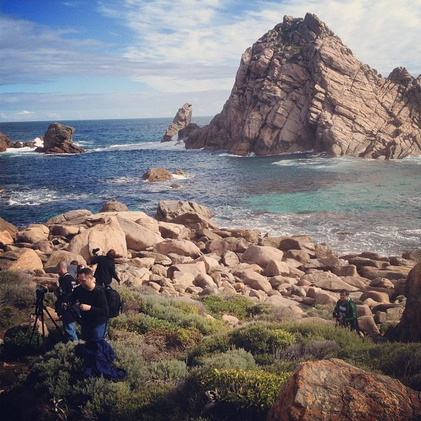 Shooting at Sugarloaf Rock