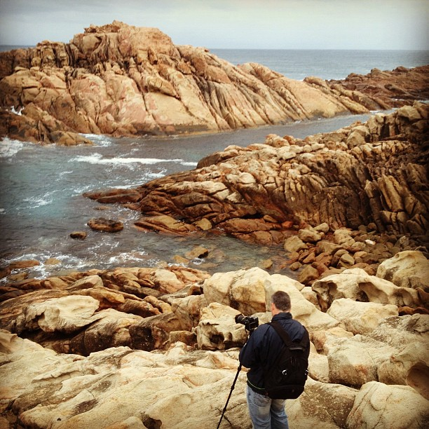 Shooting at Canal Rocks