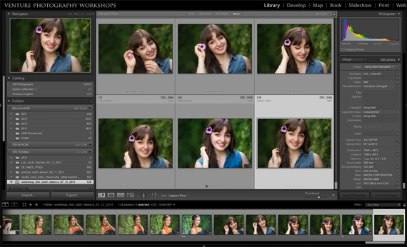 Lightroom Library Module
