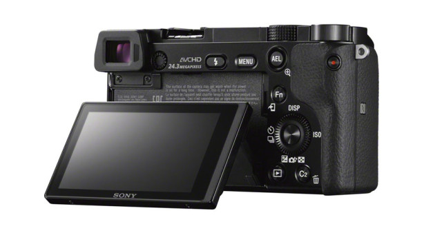 Sony A6000 - back view