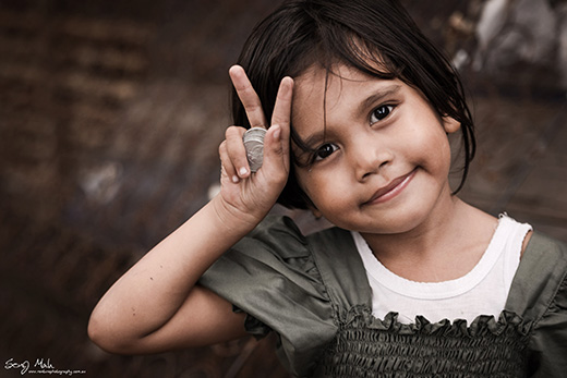 Bali Village Girl