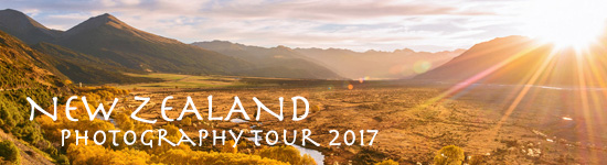 New Zealand South Island Photography Tour 2017