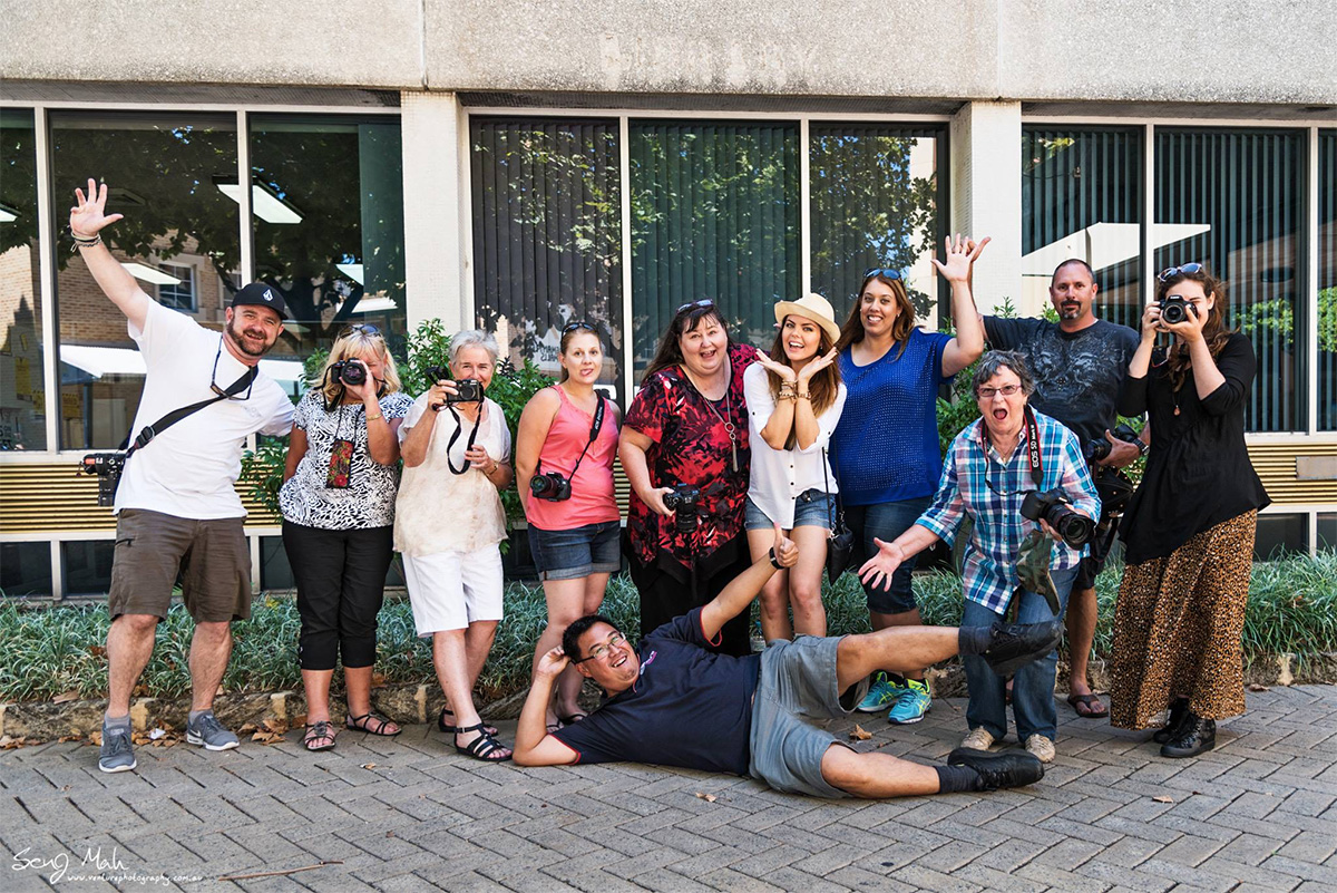 Venture Photography Workshop Group Shot