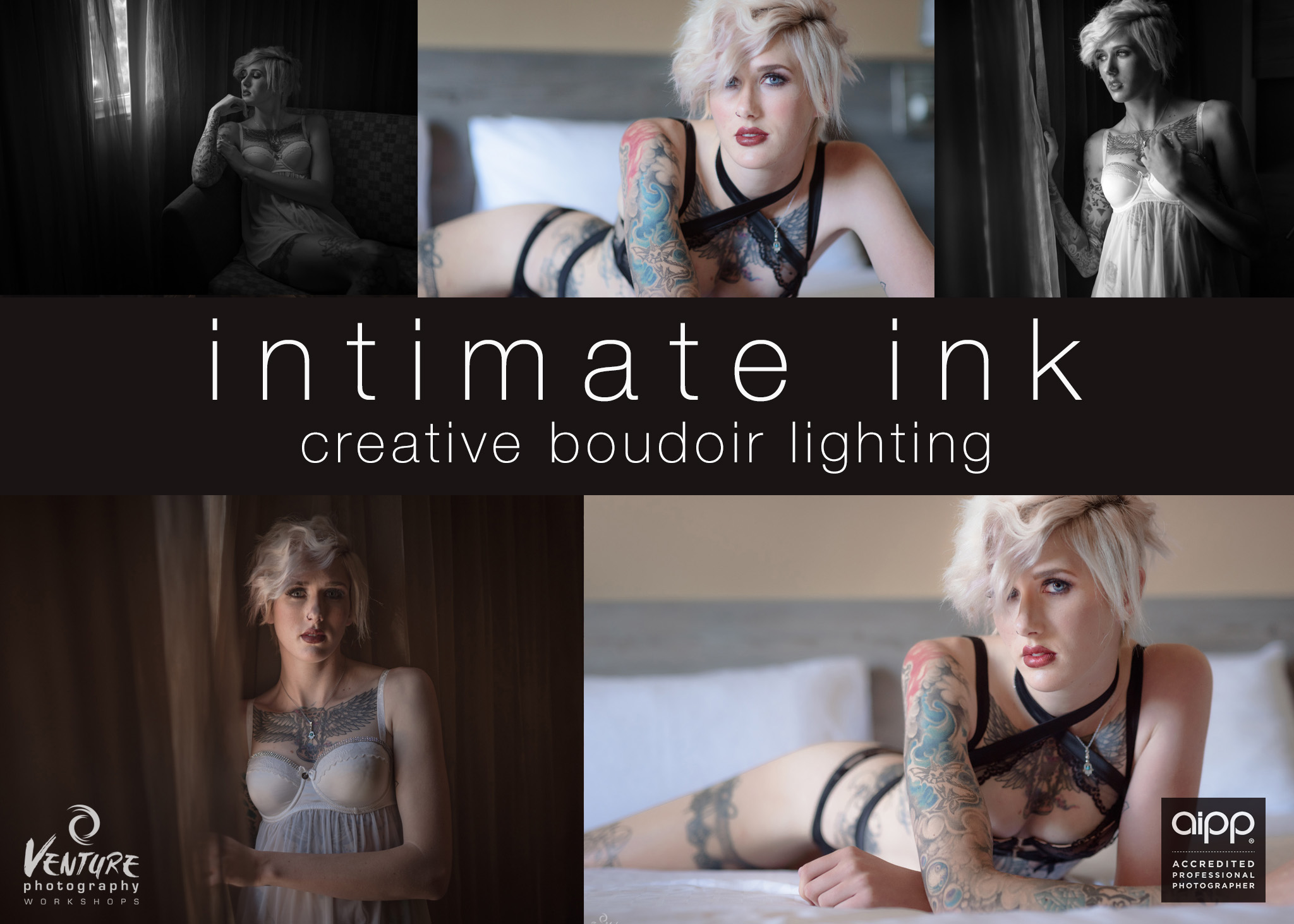 Intimate Ink: Creative Boudoir Lighting