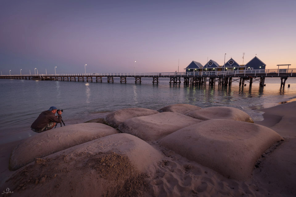 Photographing Busselton Jetty