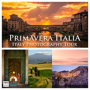 Primavera Italia: Italy Photography Tour 2018