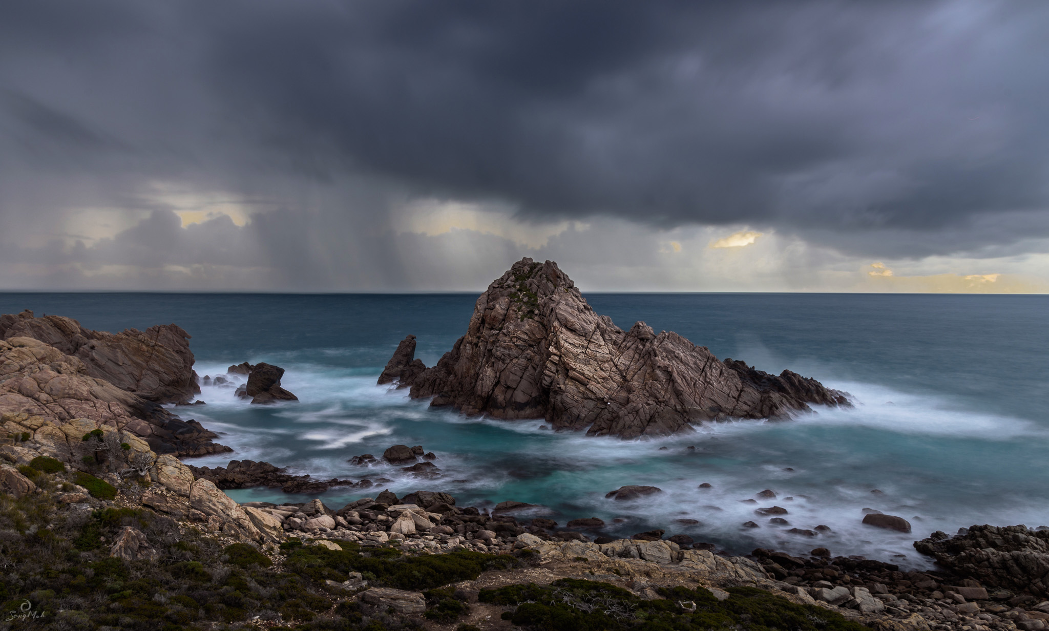 Stormy Sugarloaf Rock