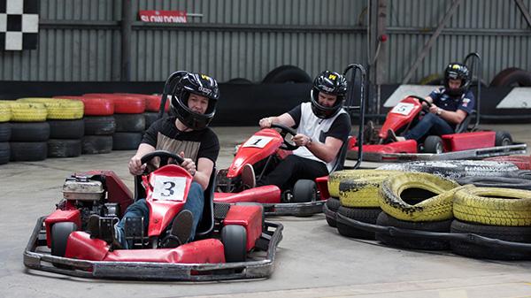 Fun fair racing