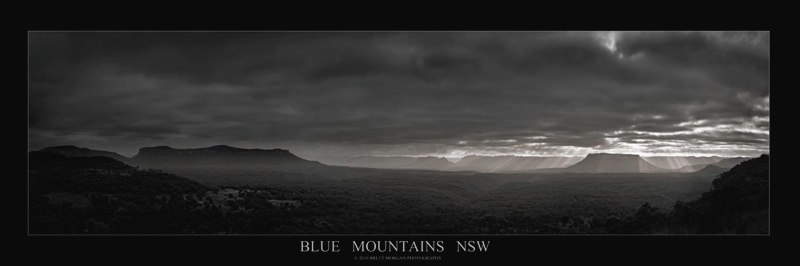 Blue Mountains Sunrise by Brett Morgan