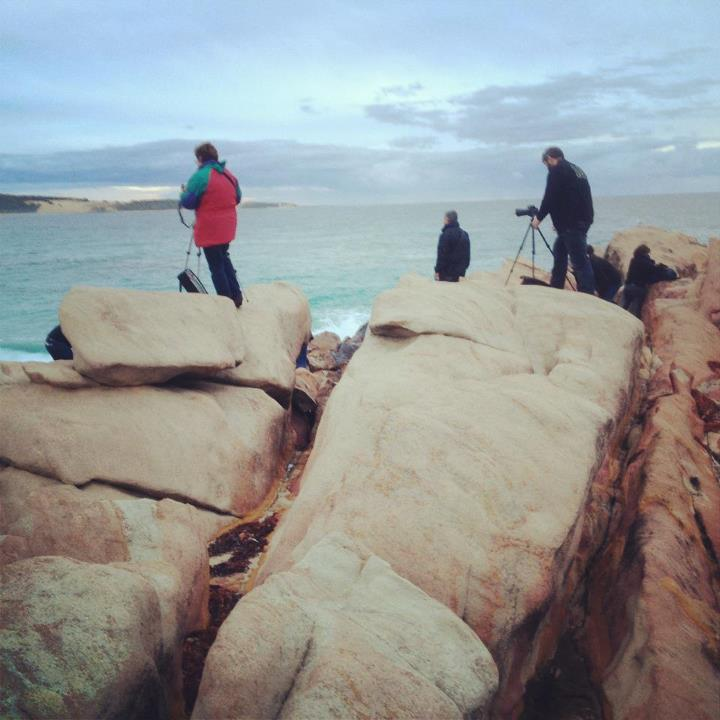 Shooting at Wydaup Rocks
