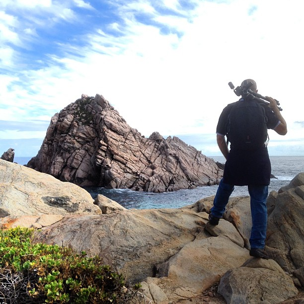 Dave at Sugarloaf Rock