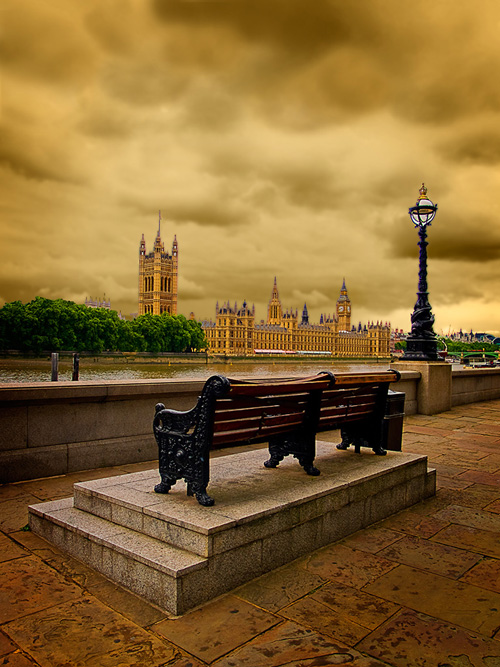 The Bench by Peter Evans. (c) Peter Evans