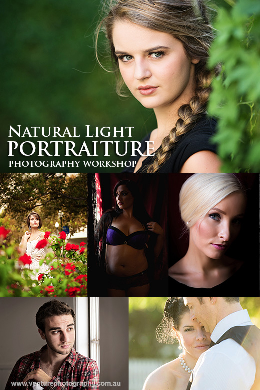 Natural Light Portraiture