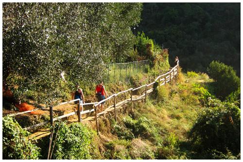 Sentiero Azzura