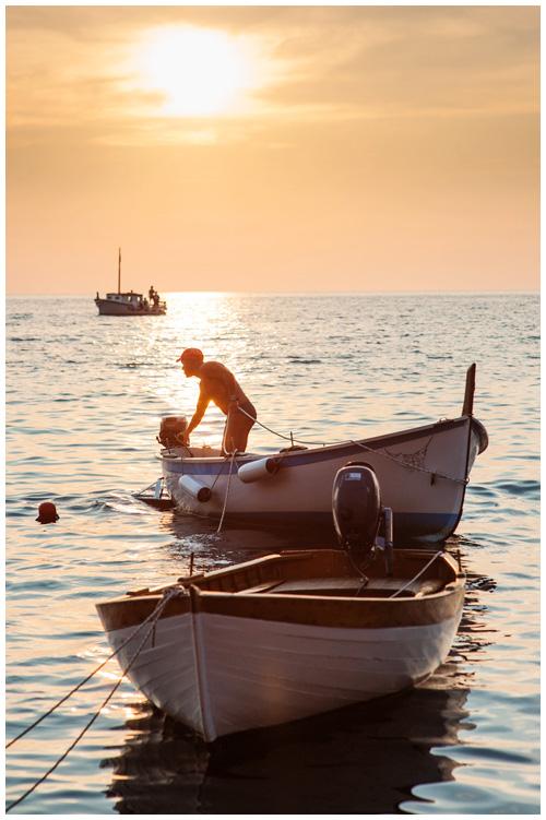 Sunset from Riomaggiore