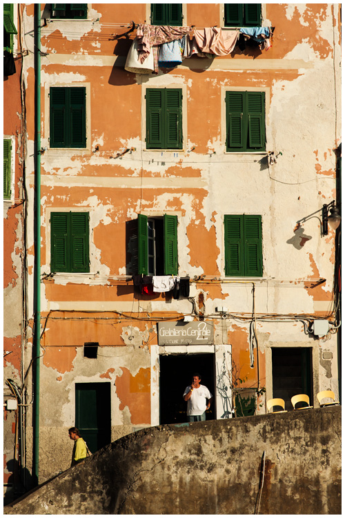 The colours of Riomaggiore