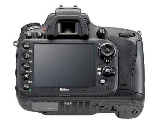 Nikon D600 back buttons