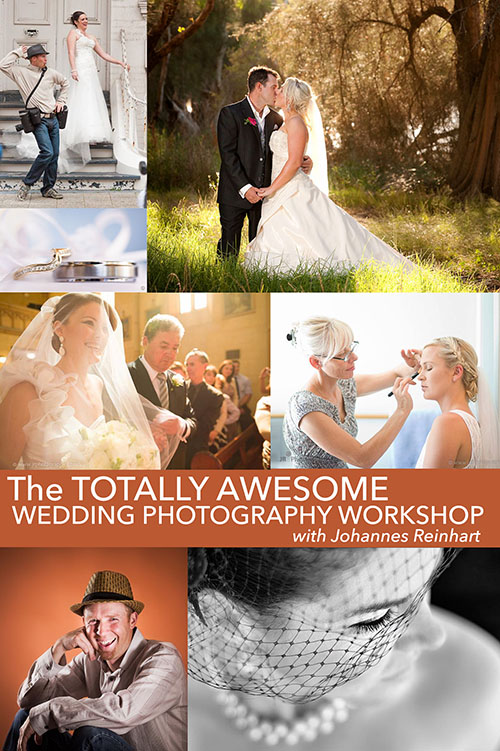 The Totally Awesome Wedding Photography Workshop Poster