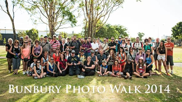Bunbury Photo Walk 2014 - Group shot