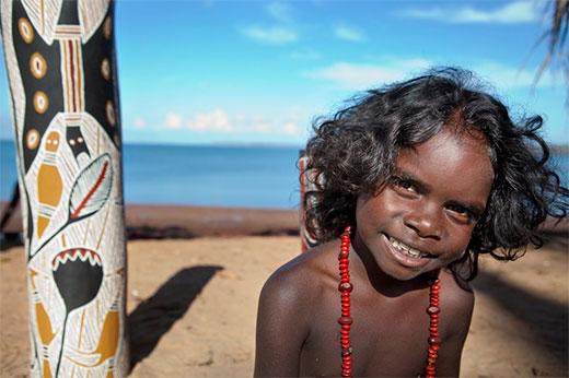 Young Aboriginal Girl