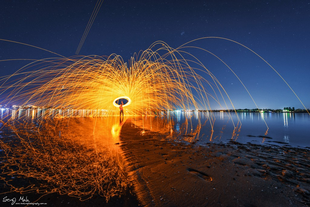 Steel wool spin - Point Walter, Bicton