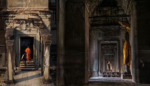 Angkor Wat scenes
