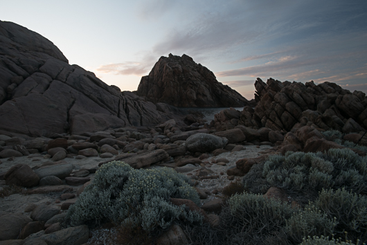 Photo of Sugarloaf Rock - Raw file output