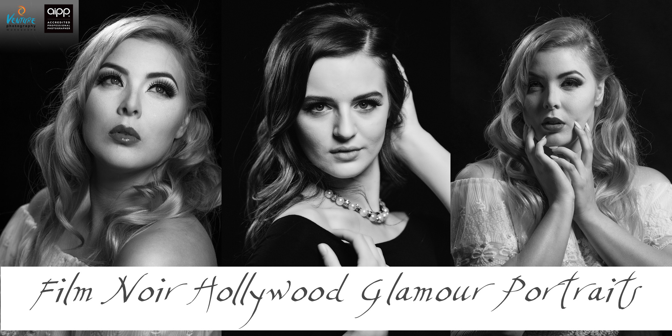 Film Noir Hollywood Glamour Portraits