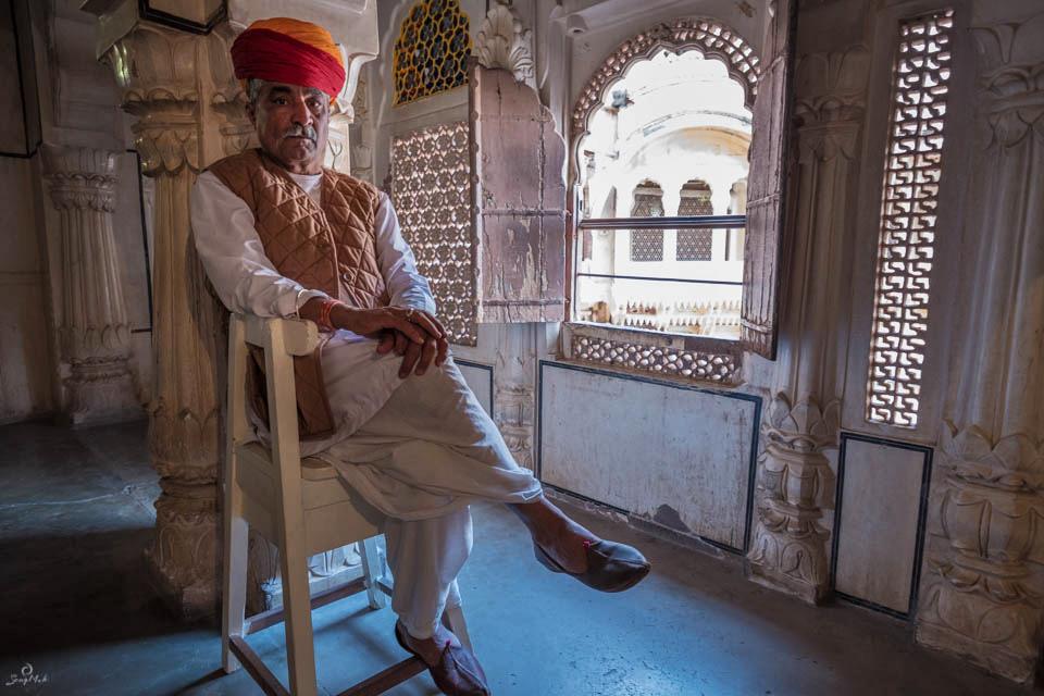 Mehrangarh Fort Guard