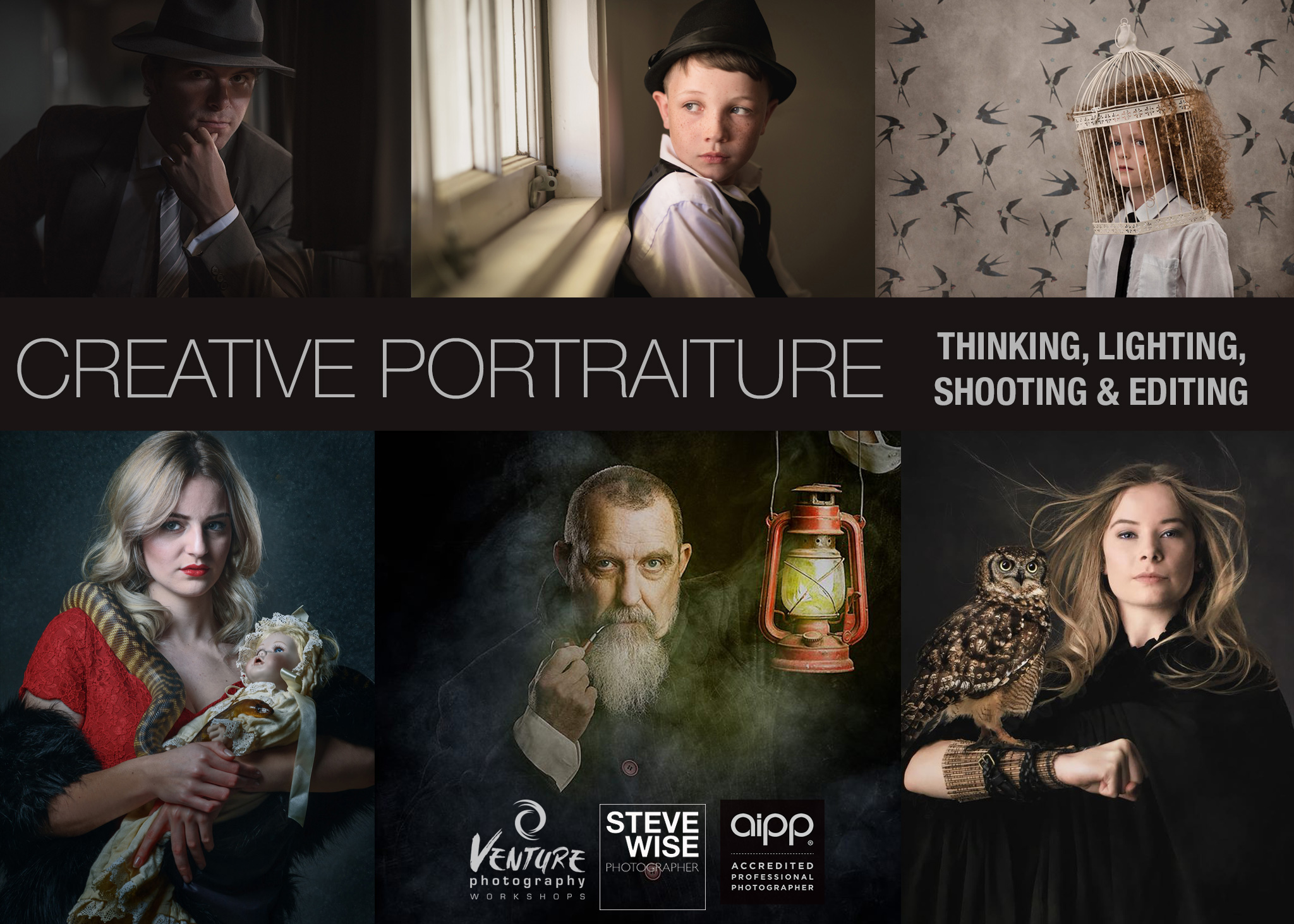 Creative Portraiture: Thinking, Lighting, Shooting & Editing