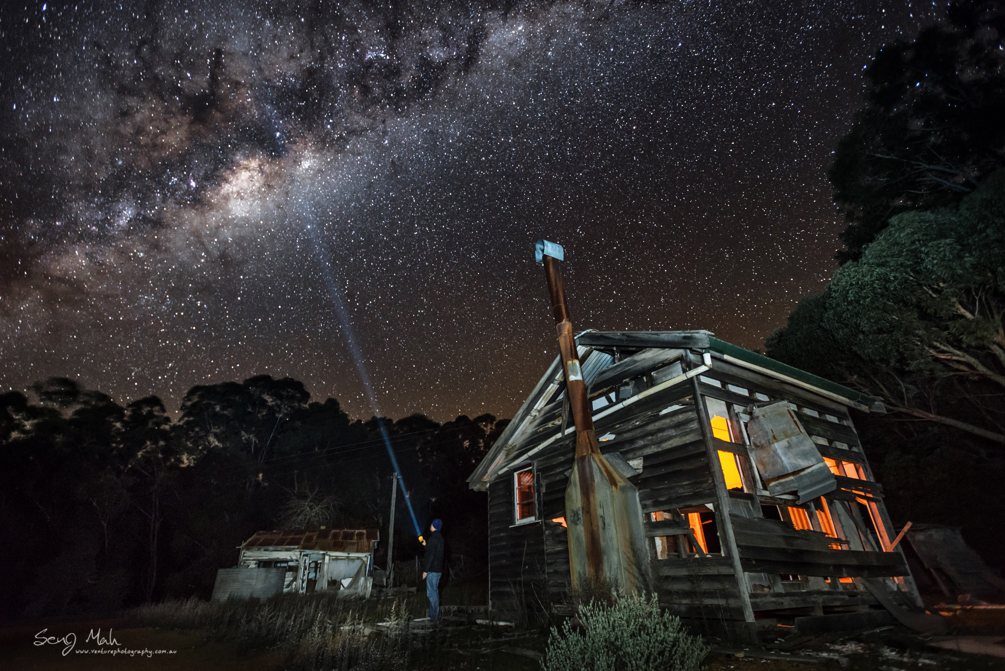 Milky Way in Donnelly River