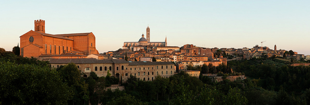 Panorama of Siena