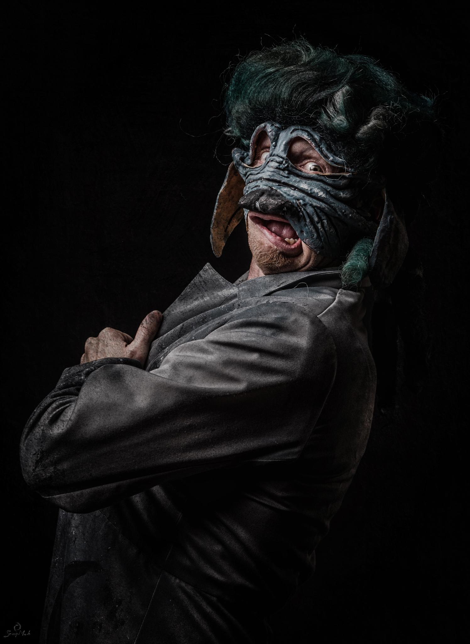 JR Halloween Portrait