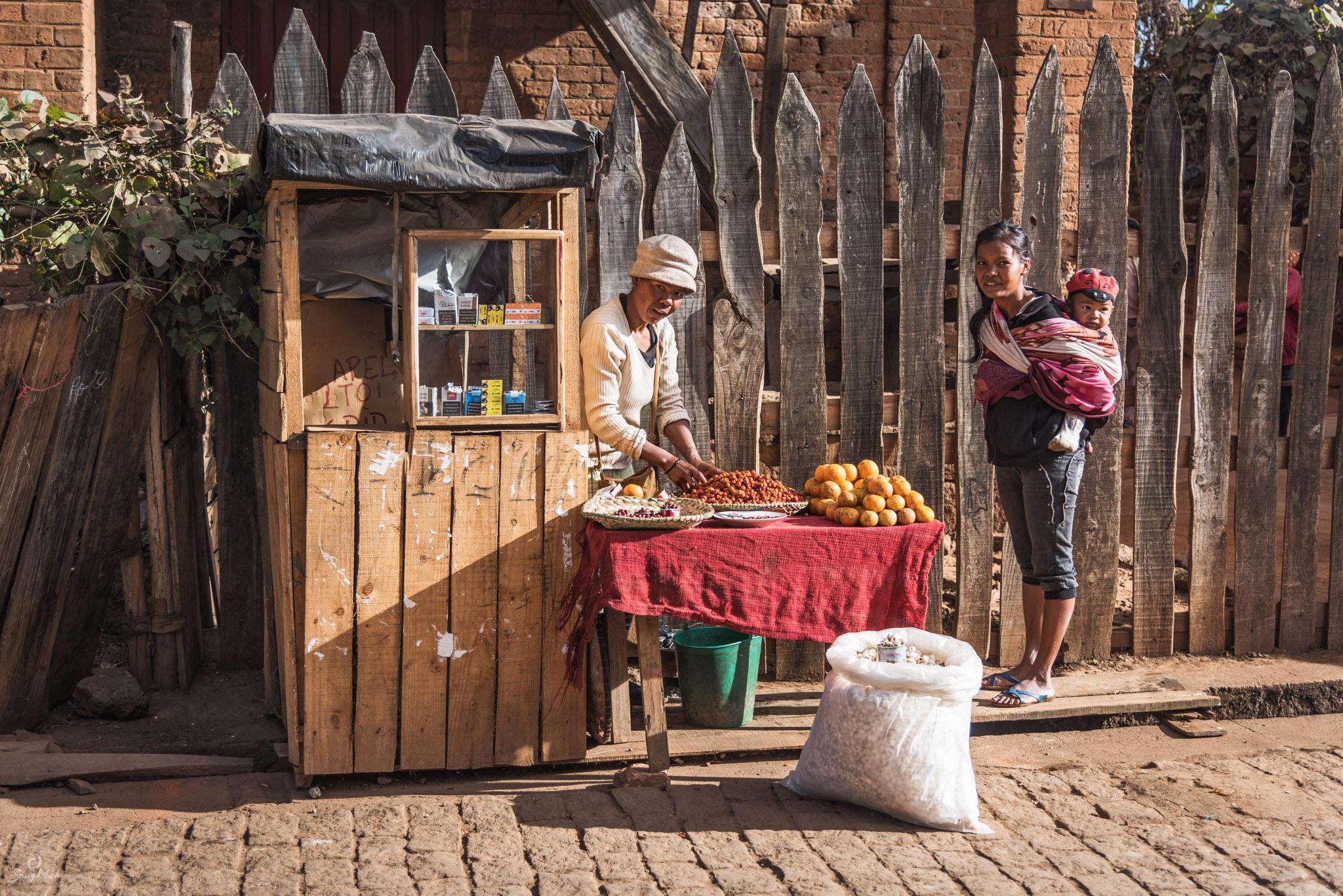 Antsirabe street scene