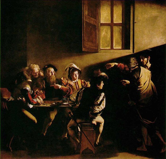 The Calling of Saint Matthew 1599