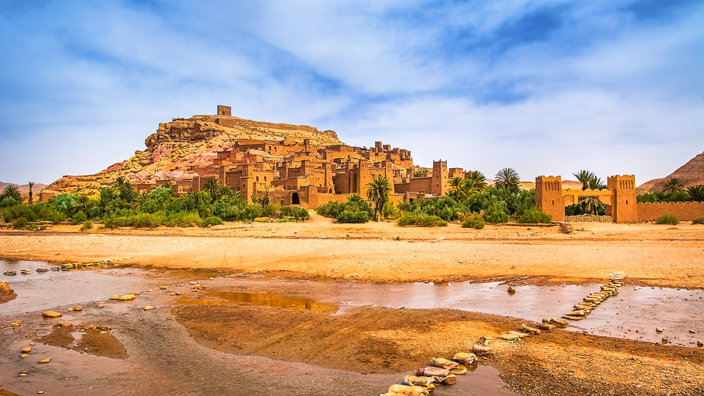 The Kasbah of Ait Ben Haddou