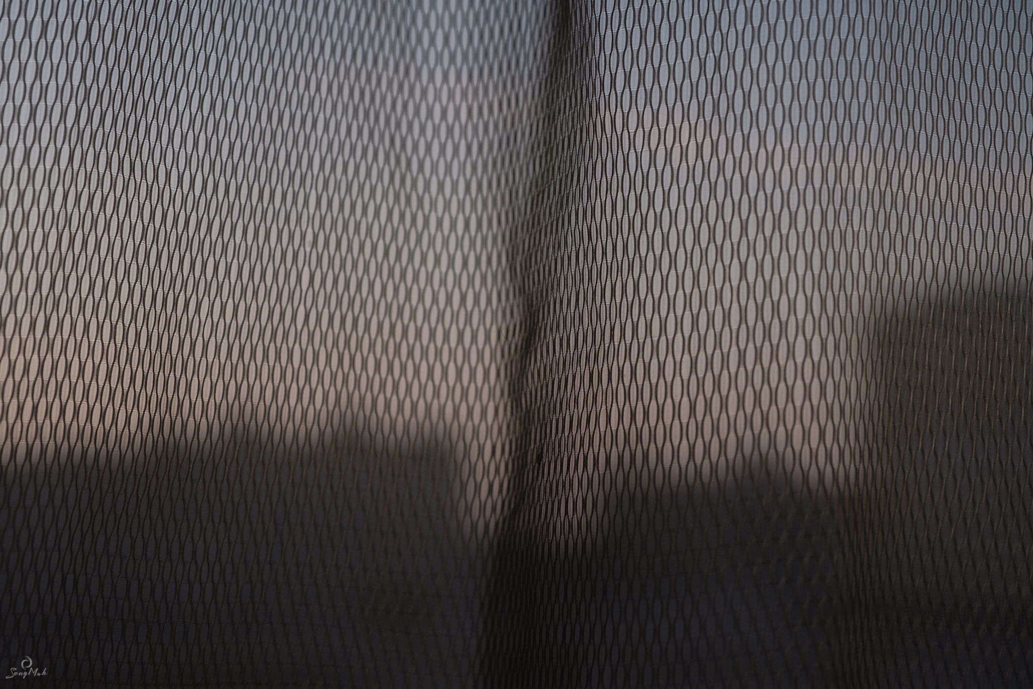 Even bedroom curtains make interesting subjects when you celebrate the Every Day