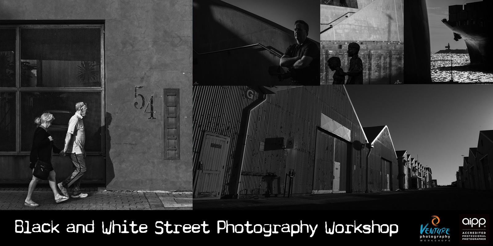 Black and White Street Photography Workshop in Fremantle