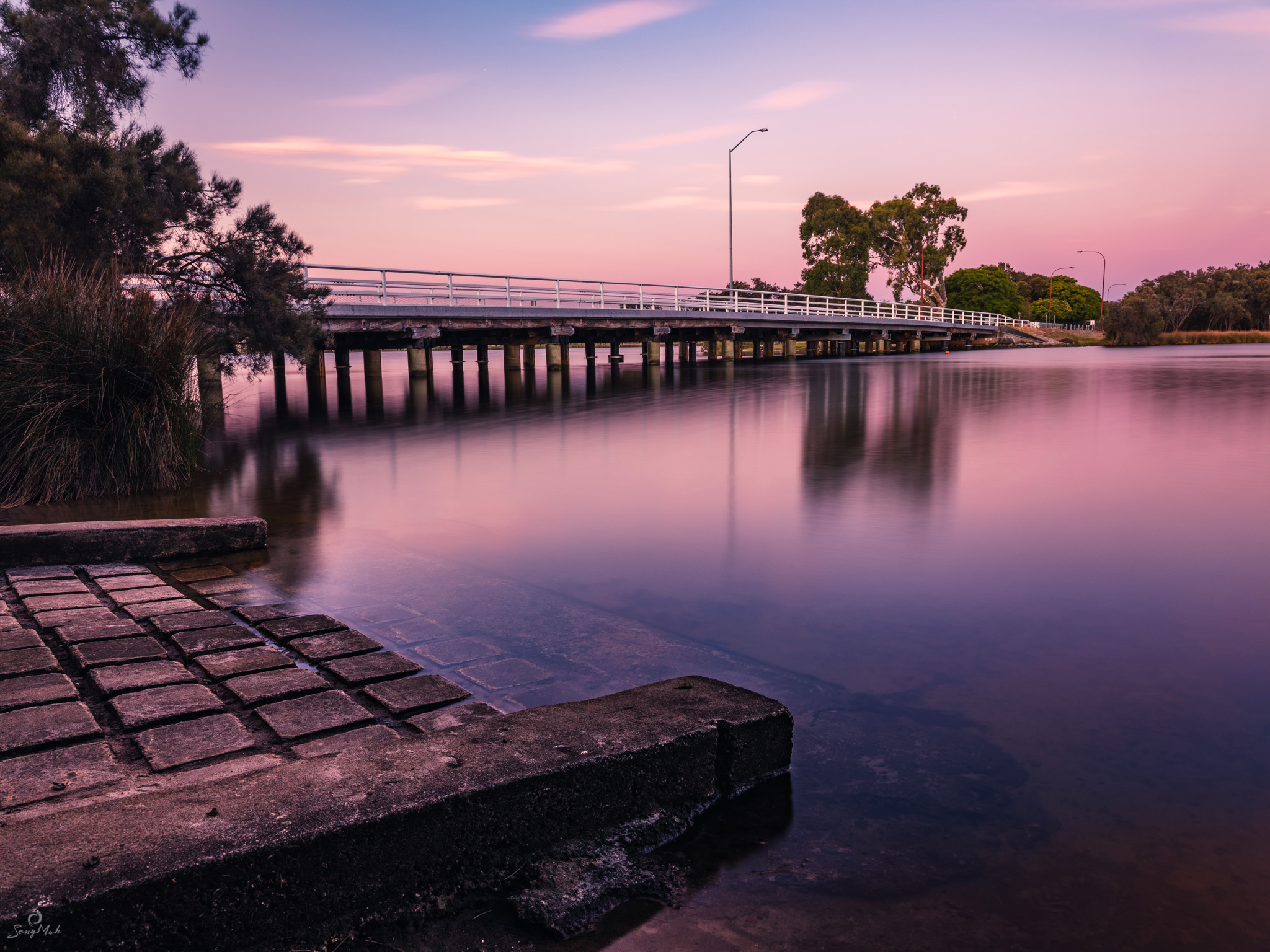 Canning River sunset