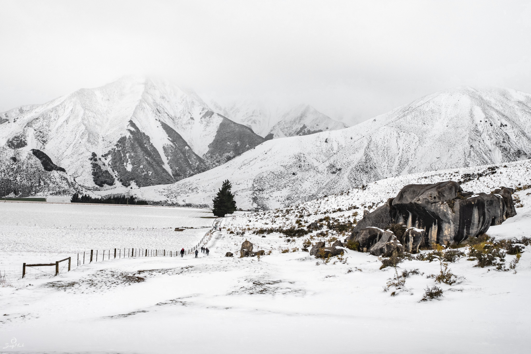 New Zealand Alpine Snowscape