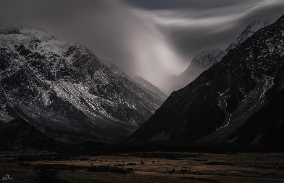Mount Cook Storm