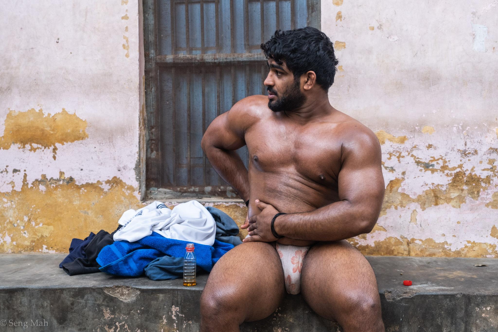 Nasir, wrestling champion