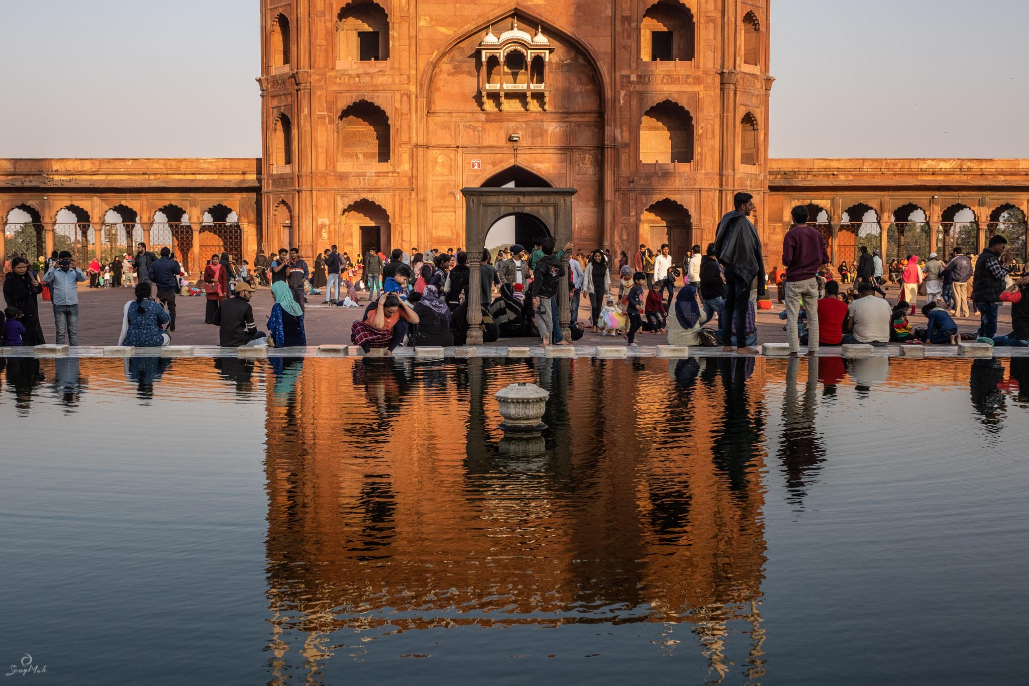 Jama Masjid washing pool