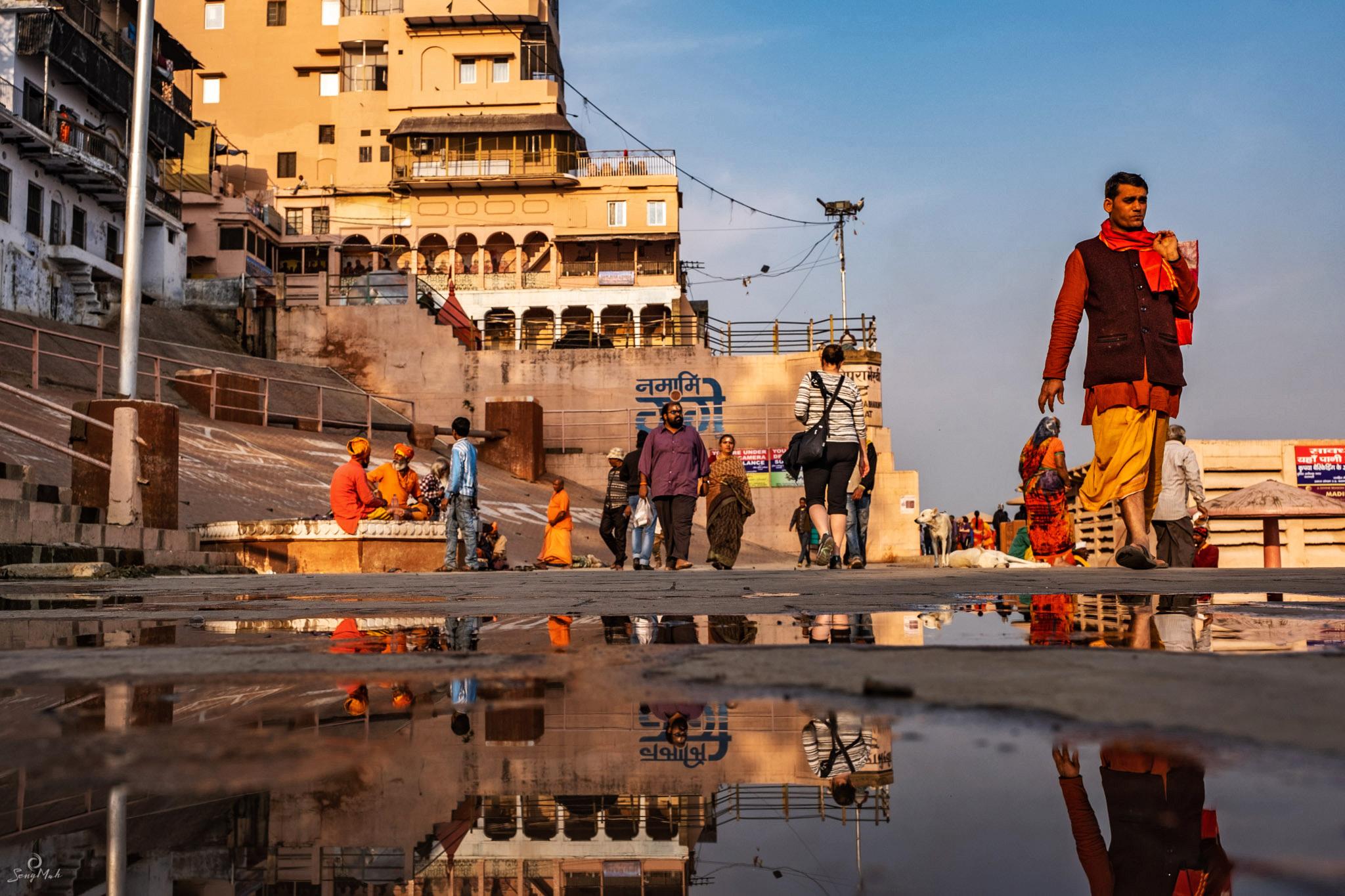 Varanasi reflections