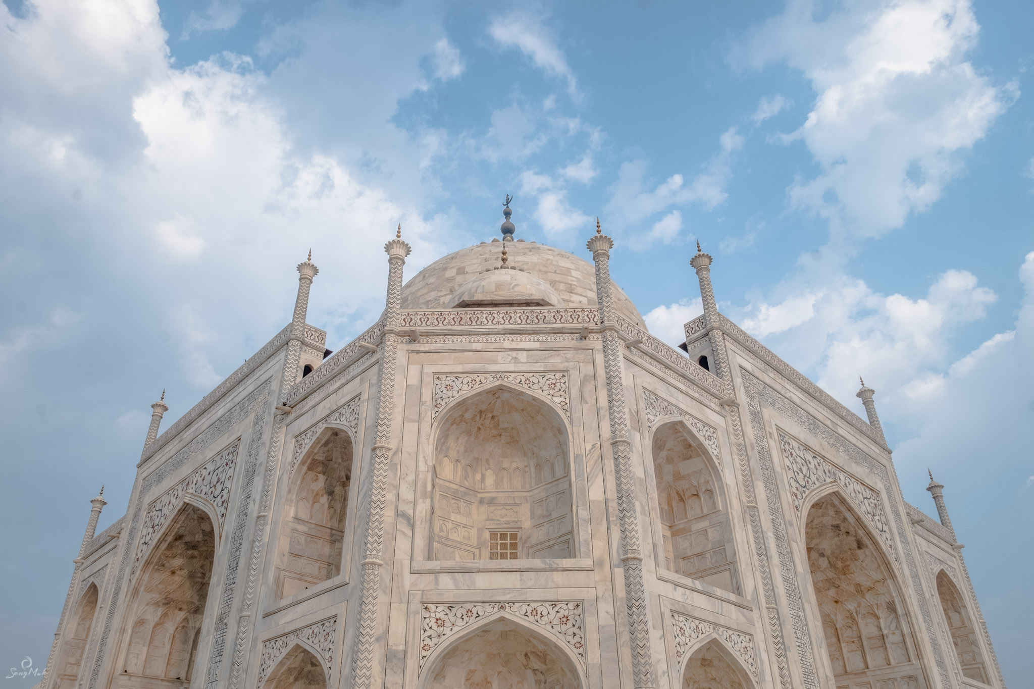 Detail of the Taj Mahal