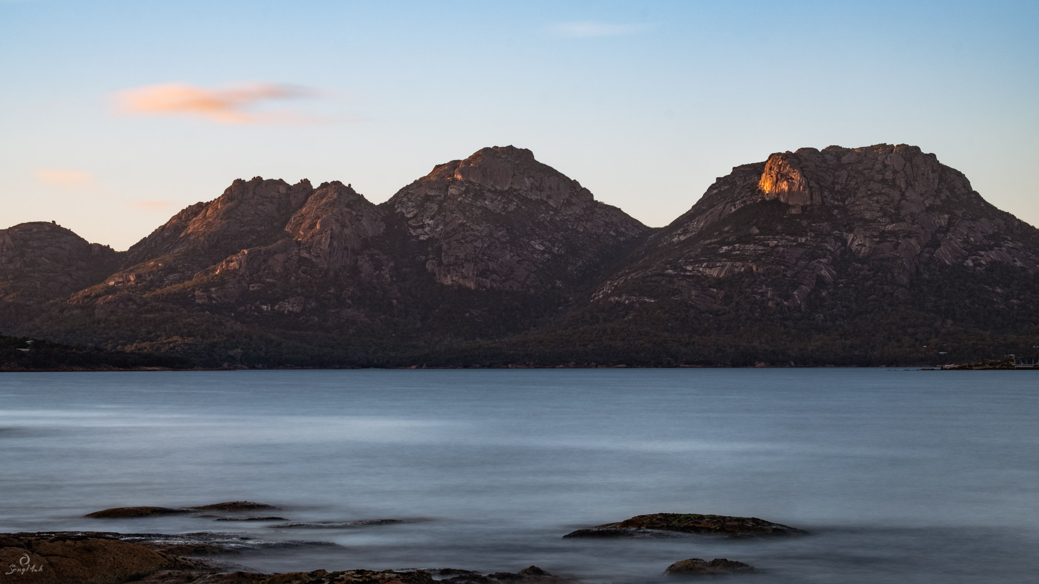 Freycinet Peninsula with Hazards