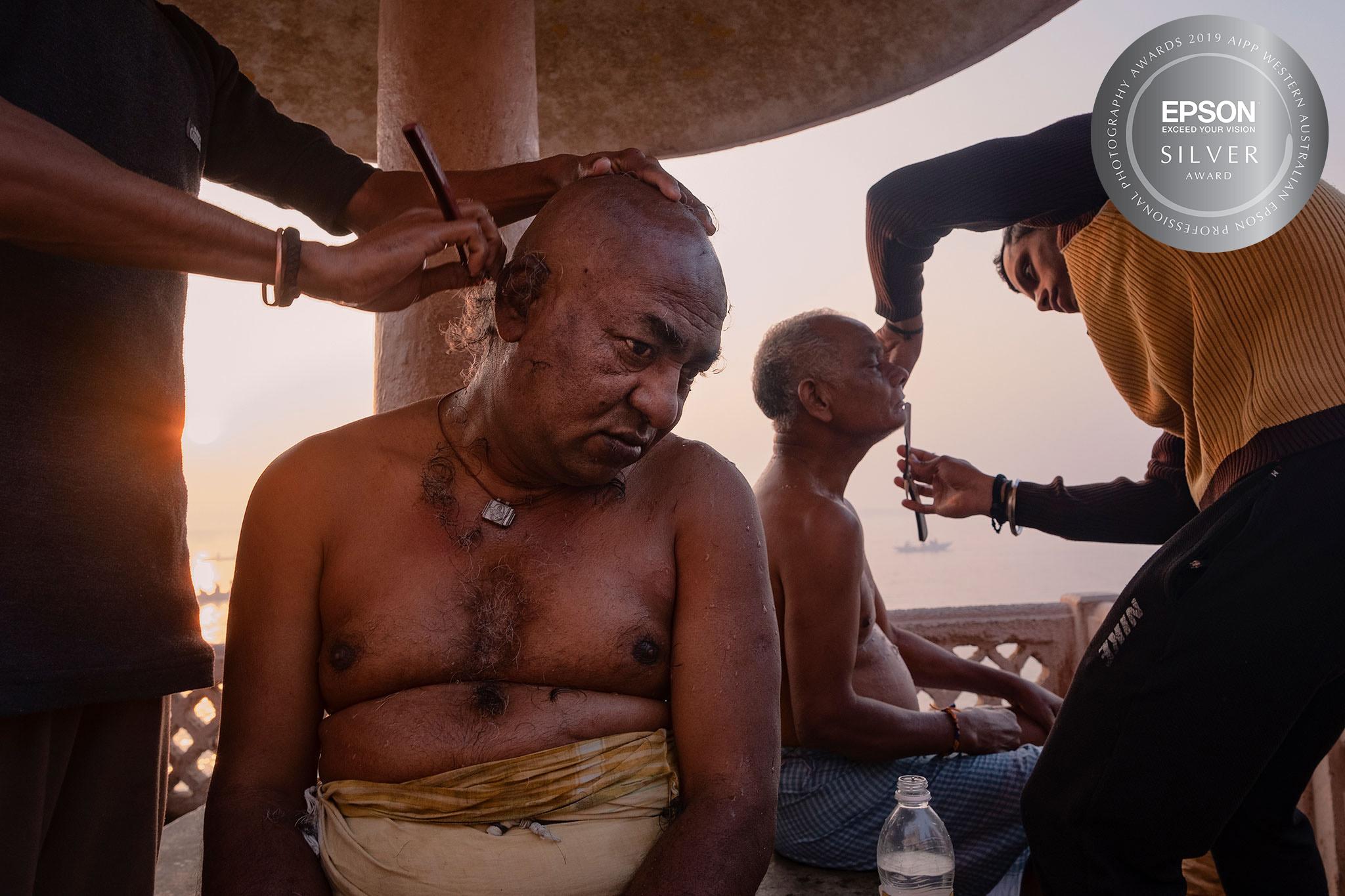 Varanasi barbers