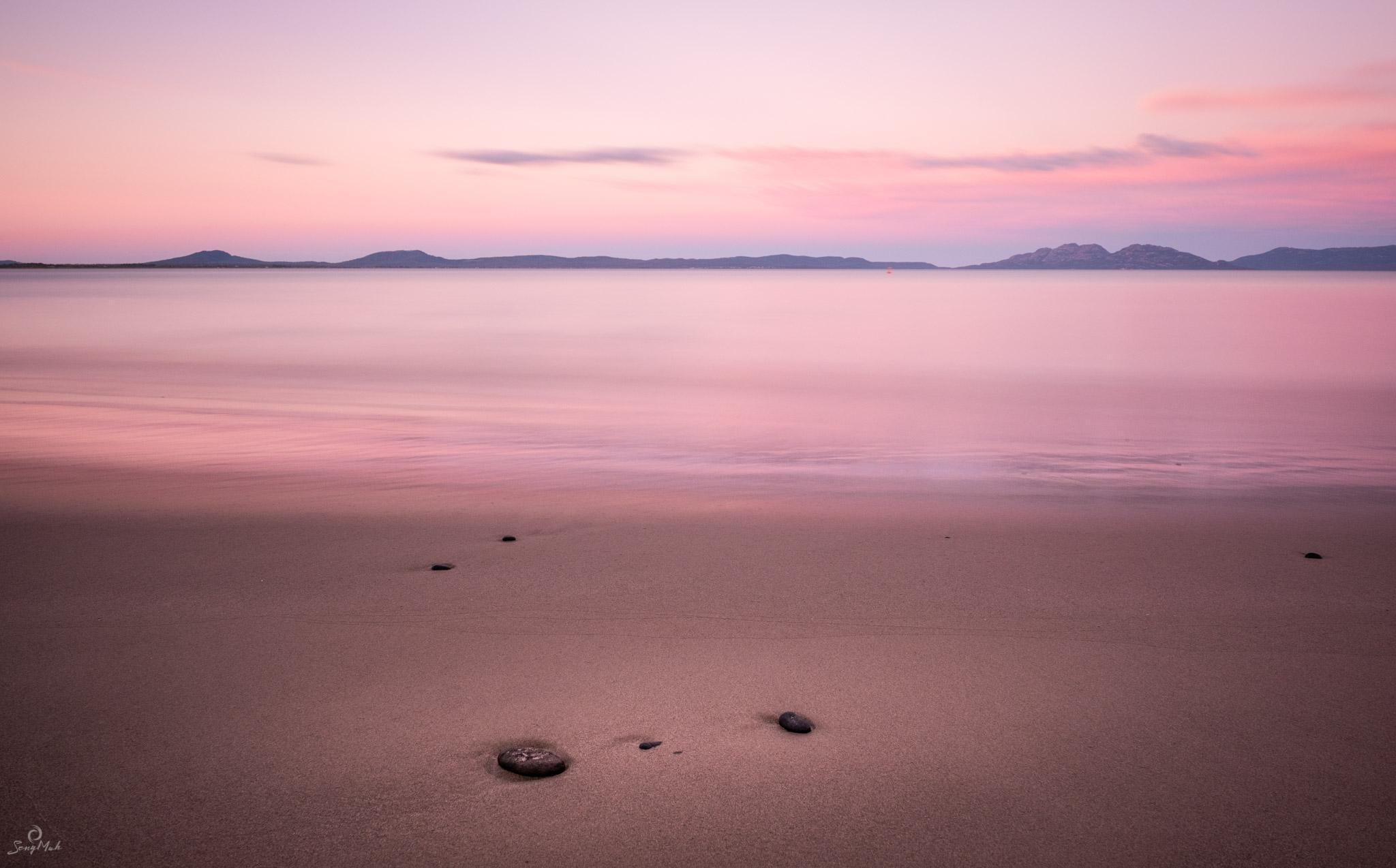 Freycinet Peninsula with Hazards
